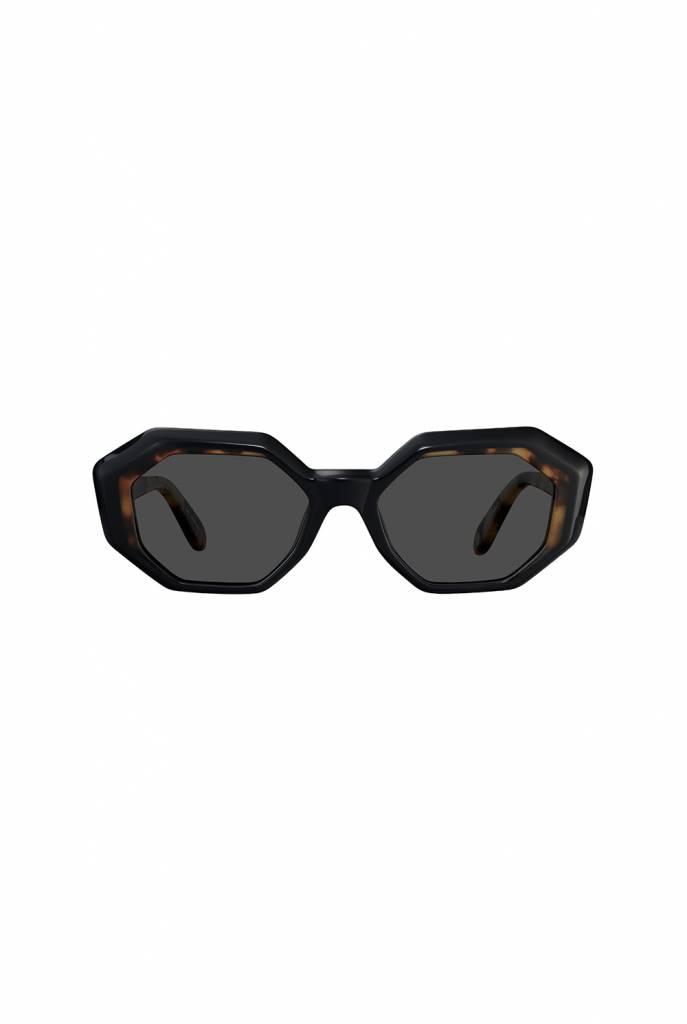 Garrett Leight Jacqueline sunglasses black tortoise green