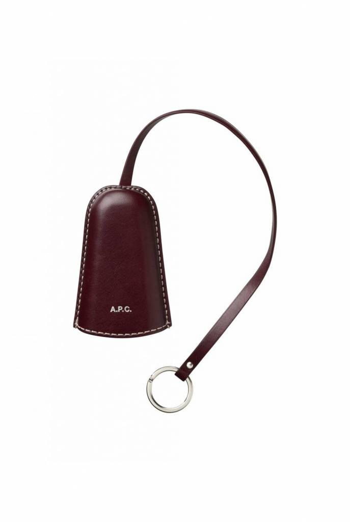 A.P.C. Chloe leather keyholder