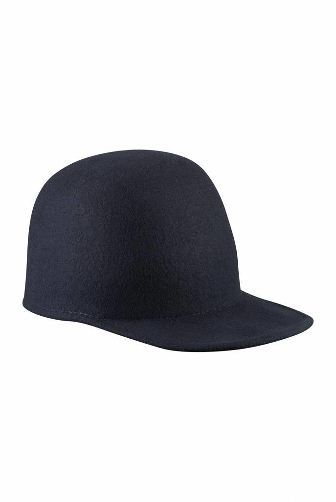 Angela hat dark navy