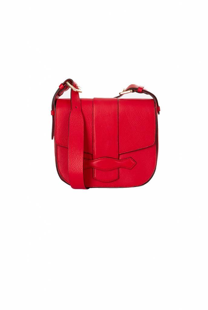 Gemma M shoulder bag vermillion