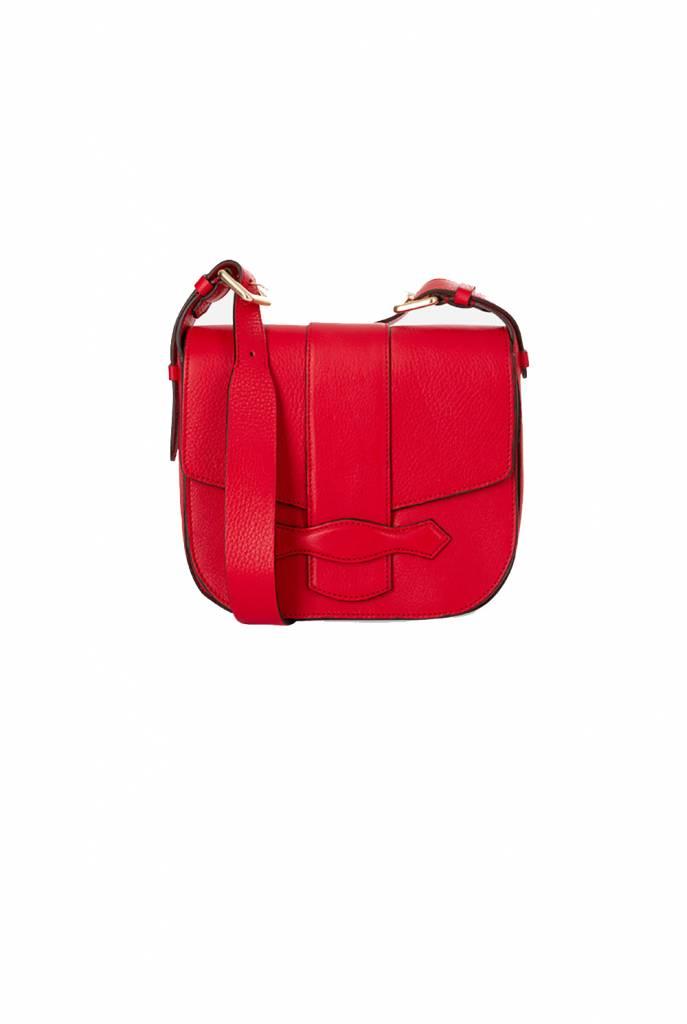 Vanessa Bruno Gemma M shoulder bag vermillion