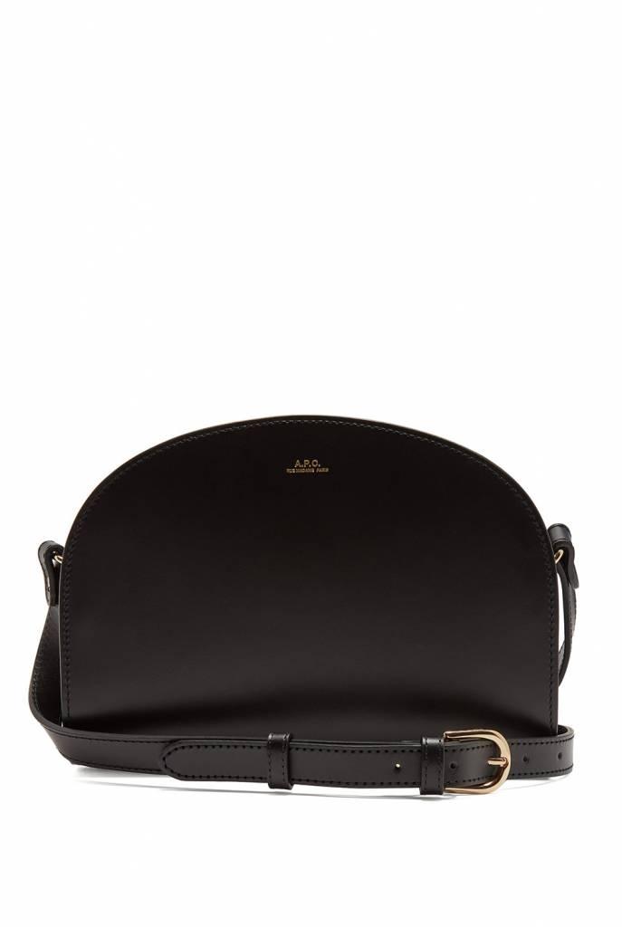 Halfmoon bag black