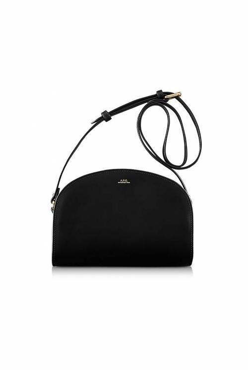Halfmoon bag black