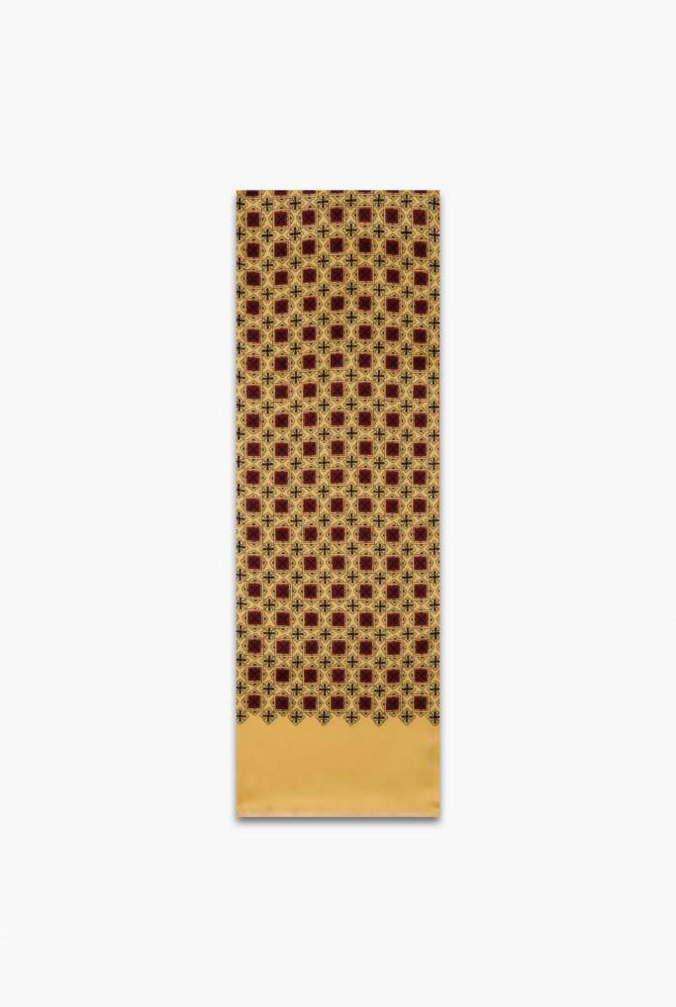Gregoire silk scarf sun