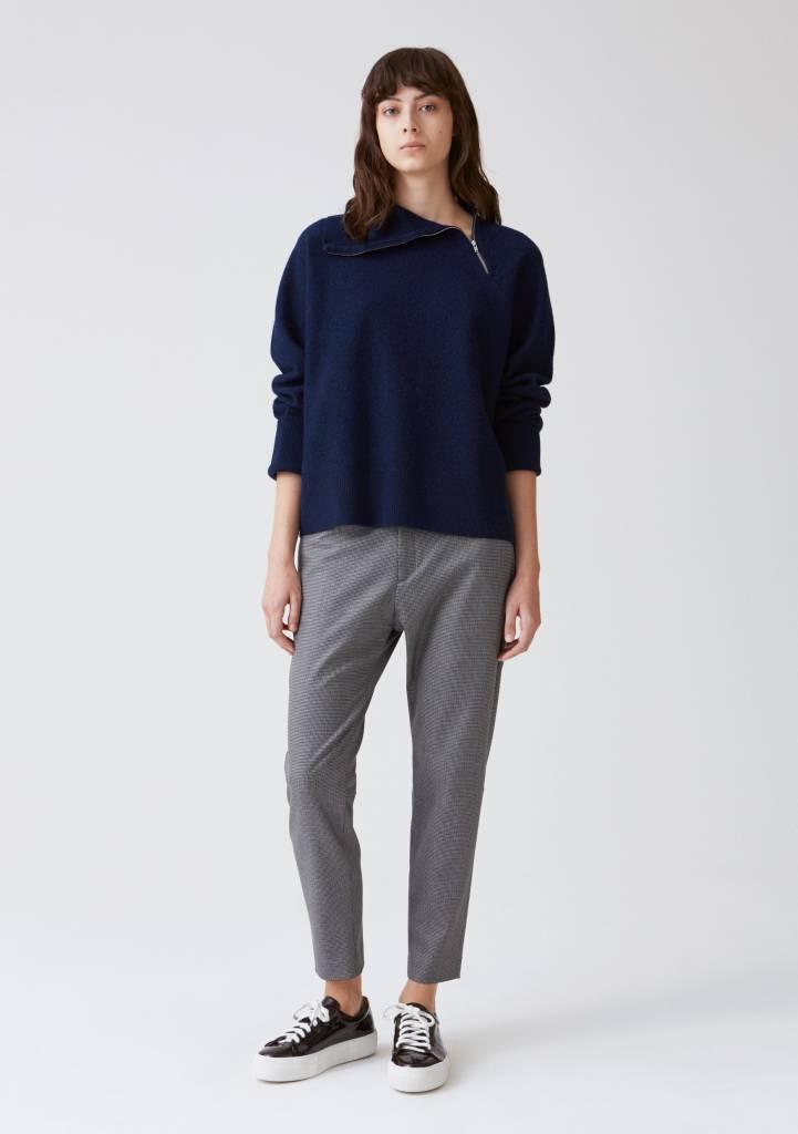 Krissy trouser light grey dogtooth