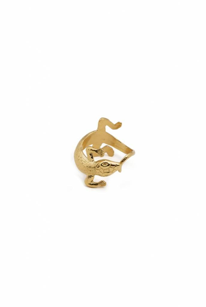 Statement ring with Salamander