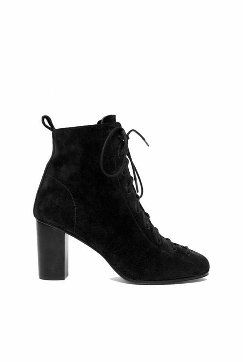 Harrow boots black suede