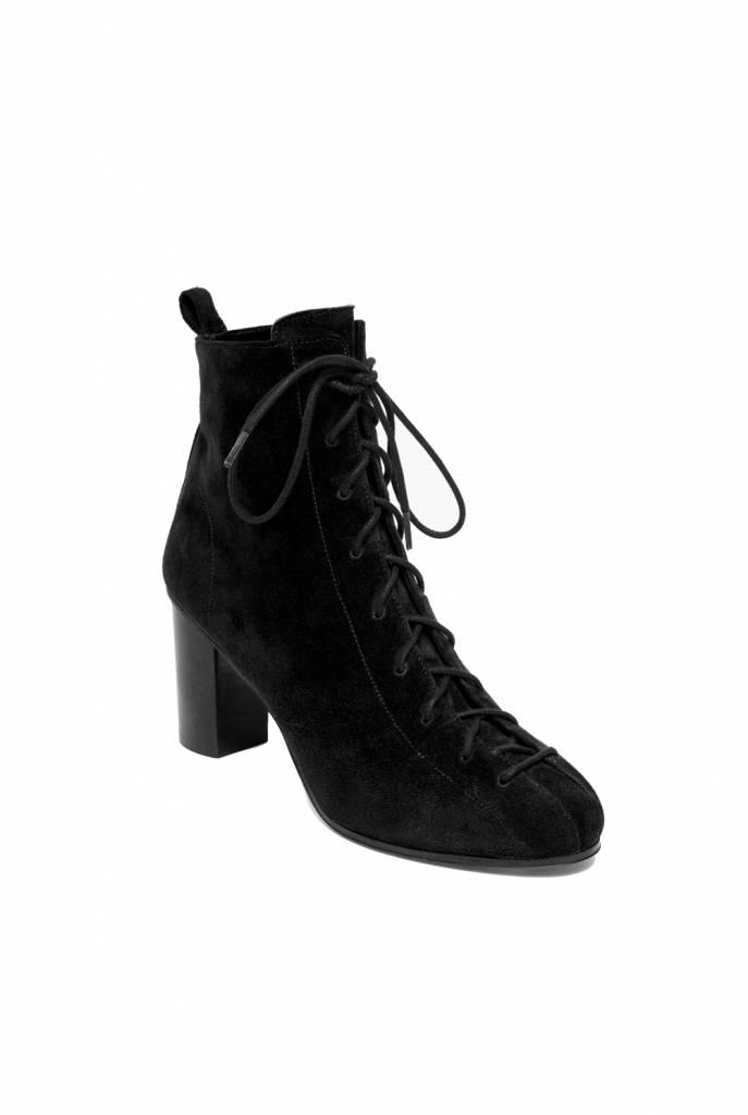 Harrow boots black suede