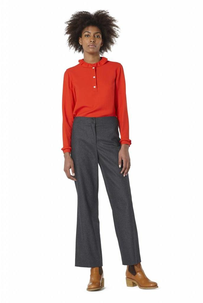 Agathe blouse red