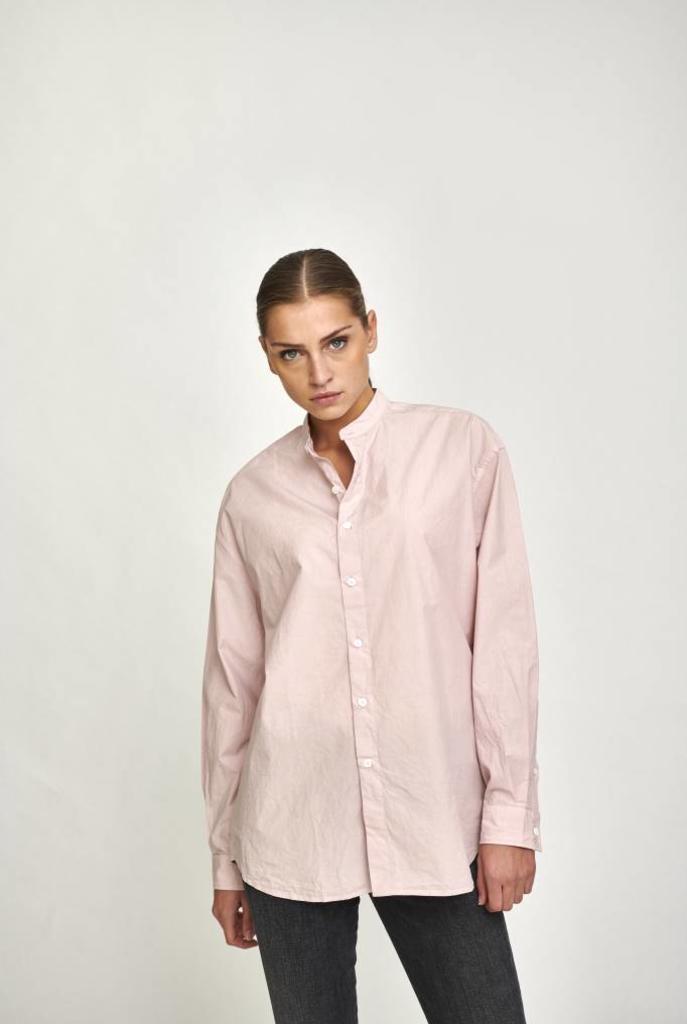 Rivoli oversized shirt pink