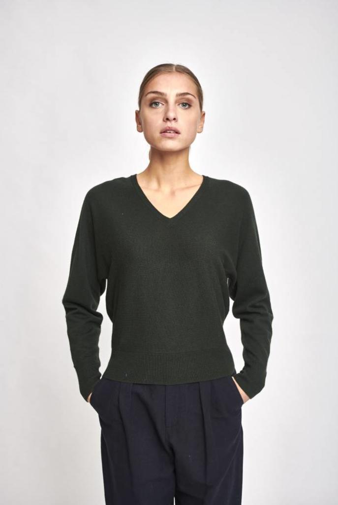 Italie V sweater sapin green