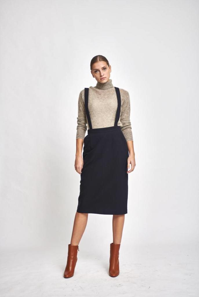 Jeffries skirt navy