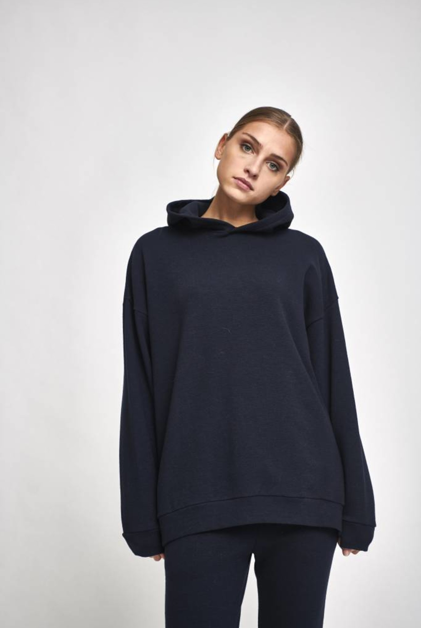 Classic hoodie ombre blue