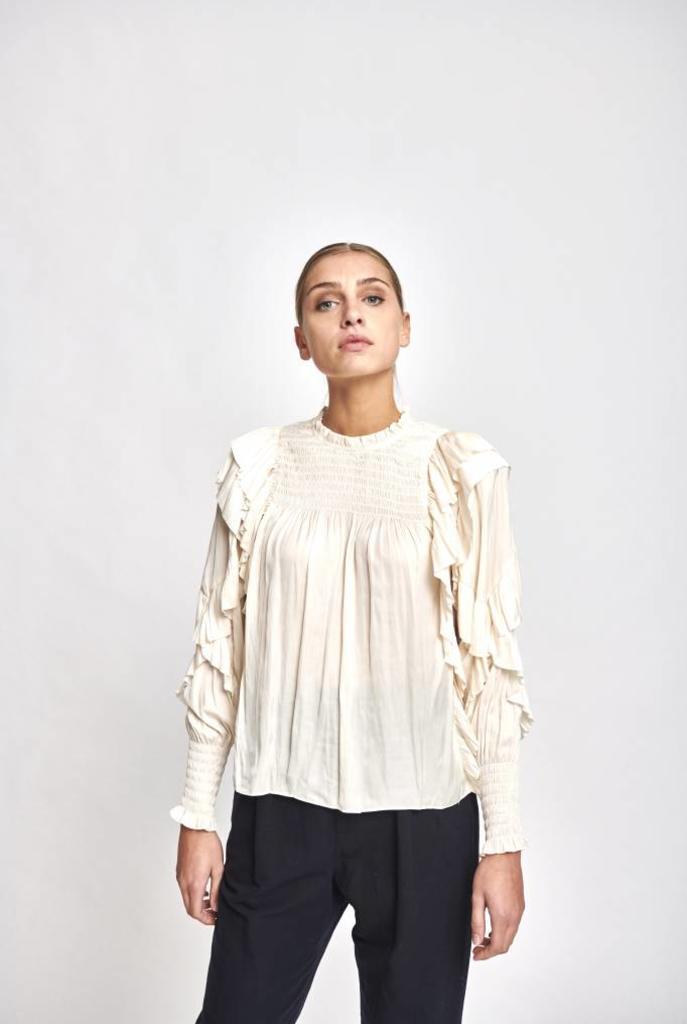 Jessamine blouse Ivory