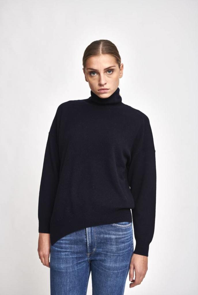 Jamaica col sweater marine