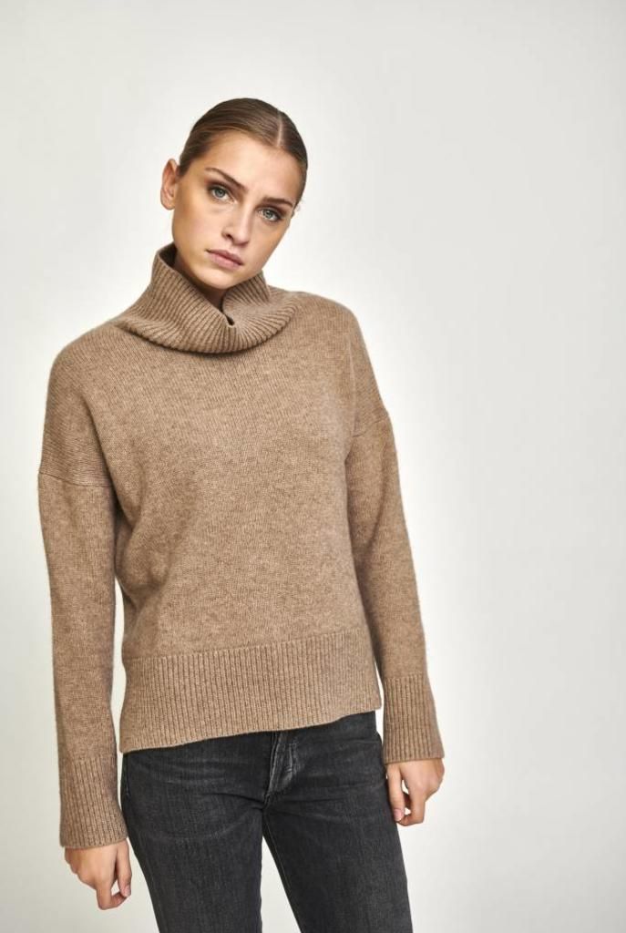 Jafet sweater taupe