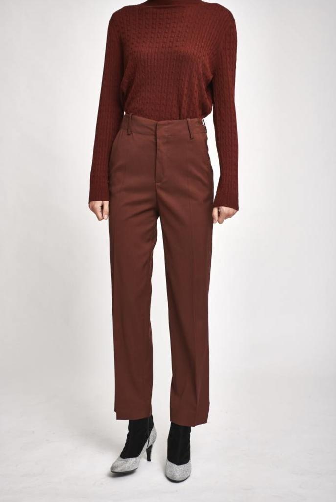 Filippa pantalon retro brown