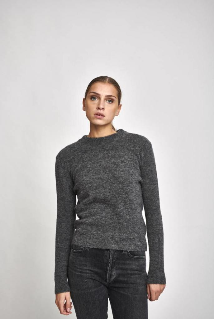 Elly sweater in grey melange
