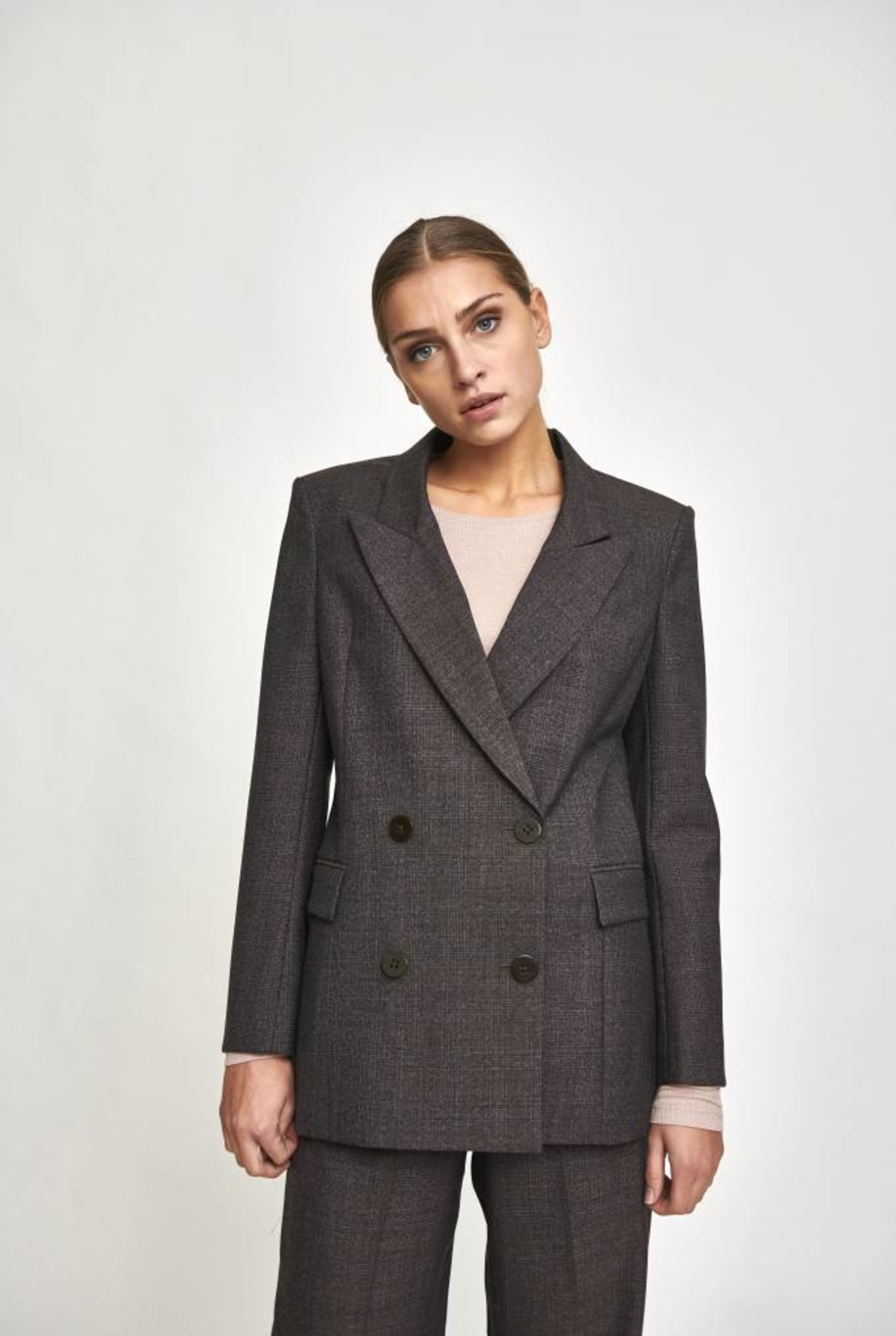 Rowina blazer in glen check