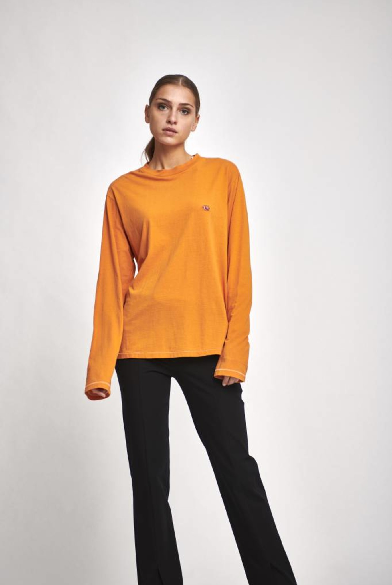longsleeve shirt orange