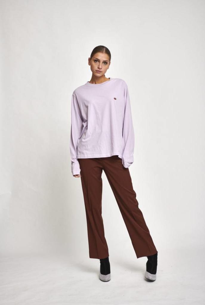 longsleeve shirt light purple
