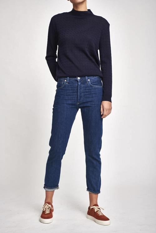 Liya jeans blue french