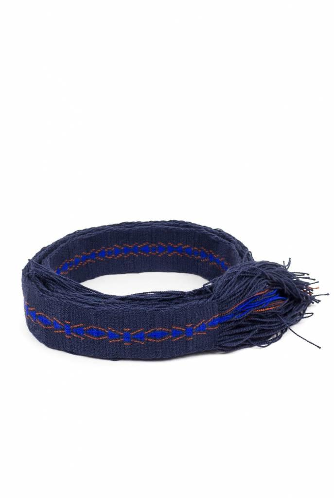 Belt blue red