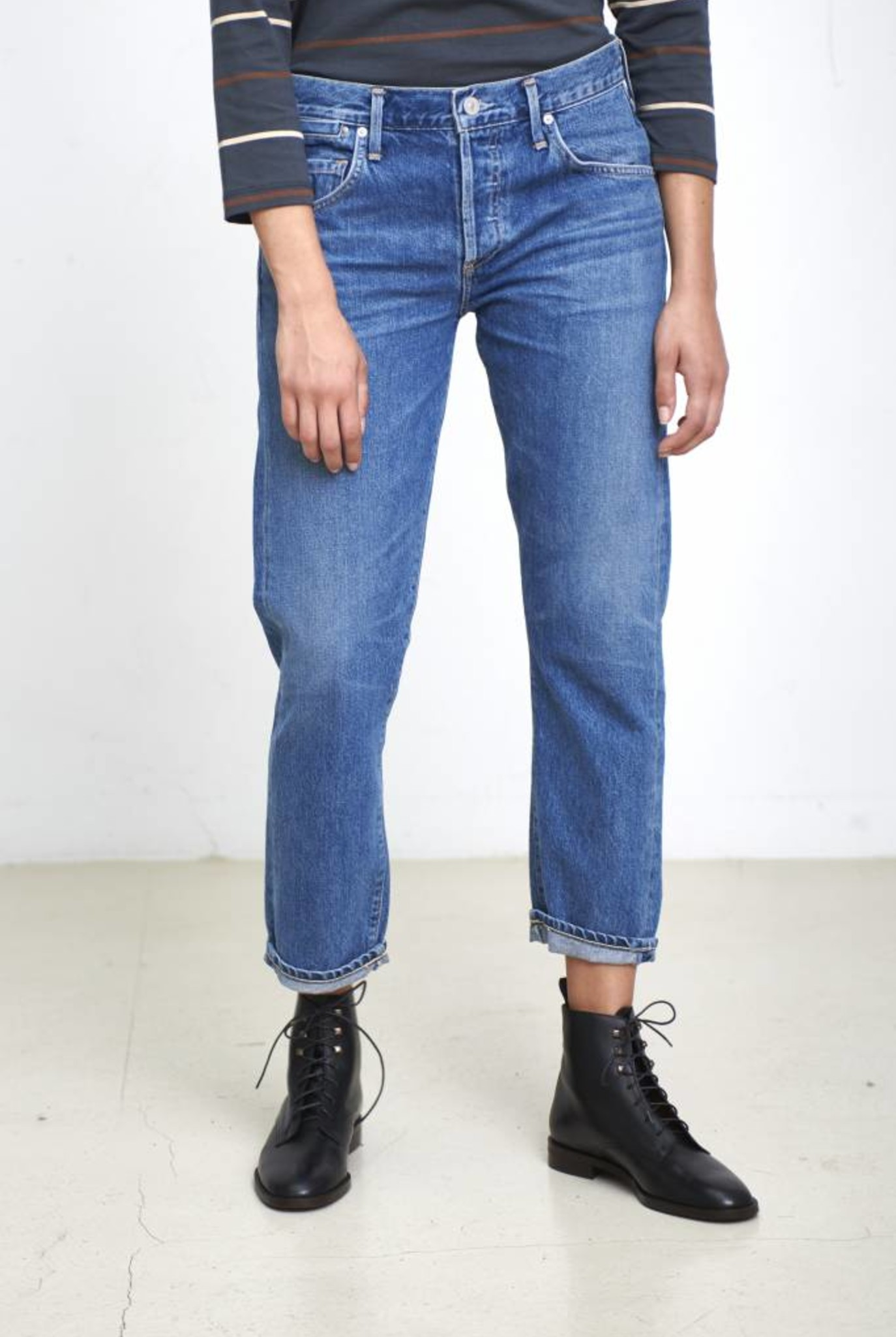 Liya high rise jeans in admire