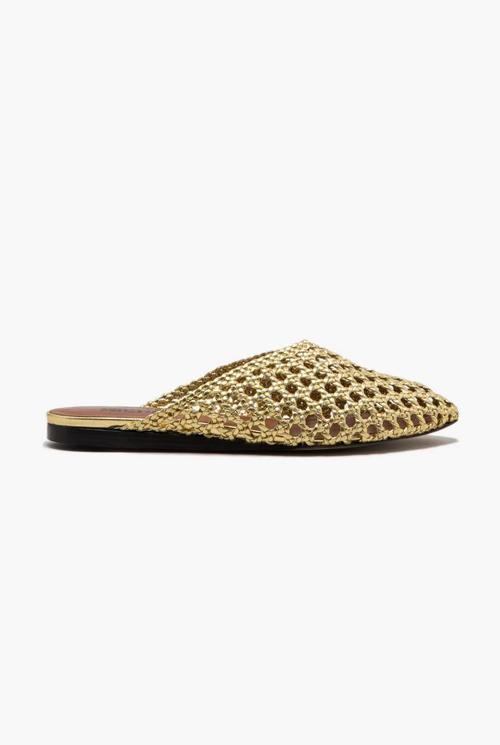 Jude slipper gold