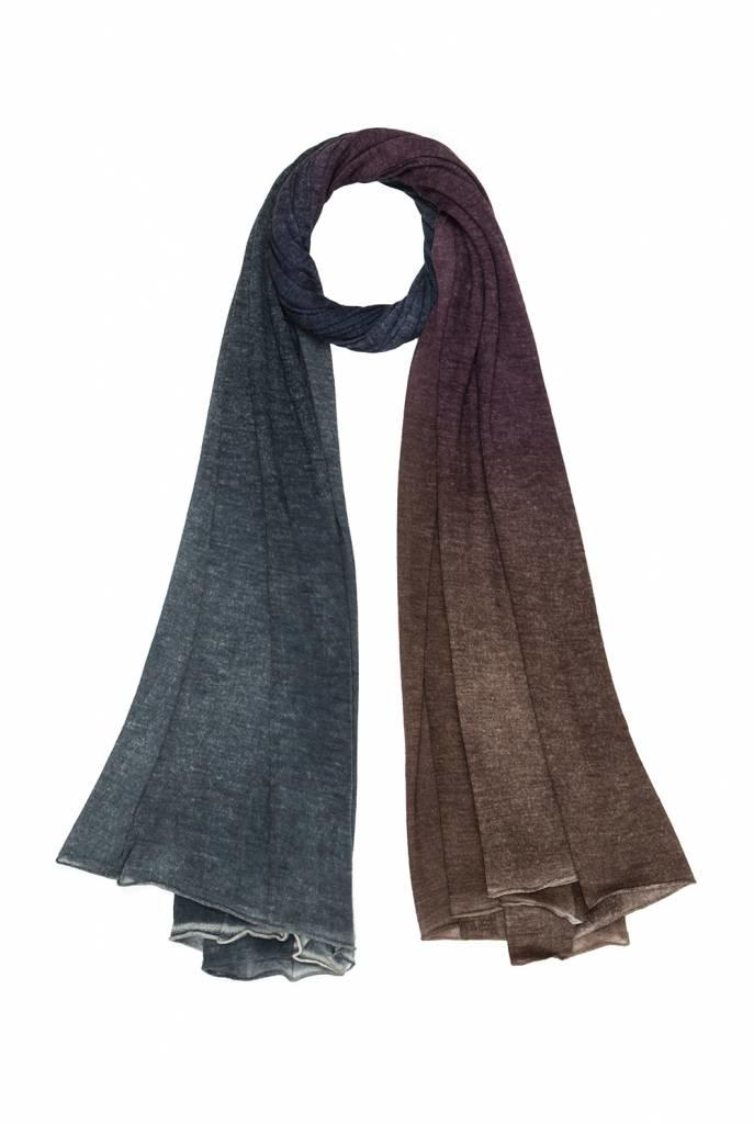 Vevo scarf blue purple