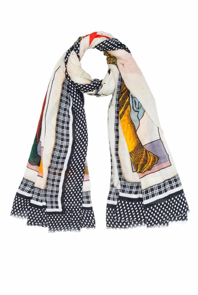 Poker Love scarf