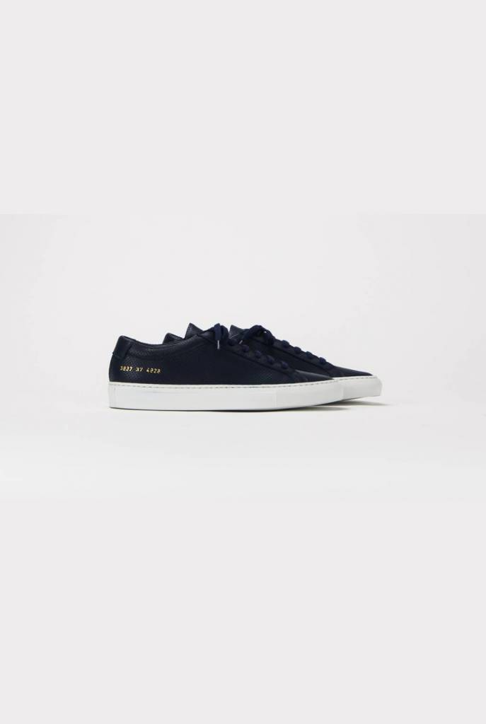 Achilles perforated navy white