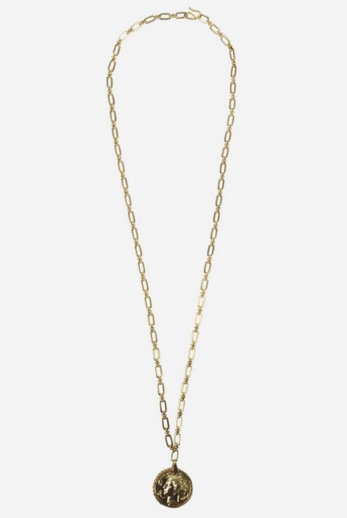 Jacenia necklace golden coin