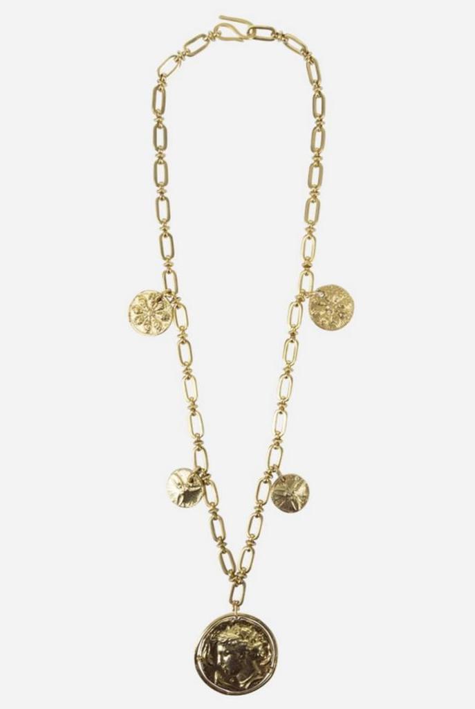Jana necklace golden coin
