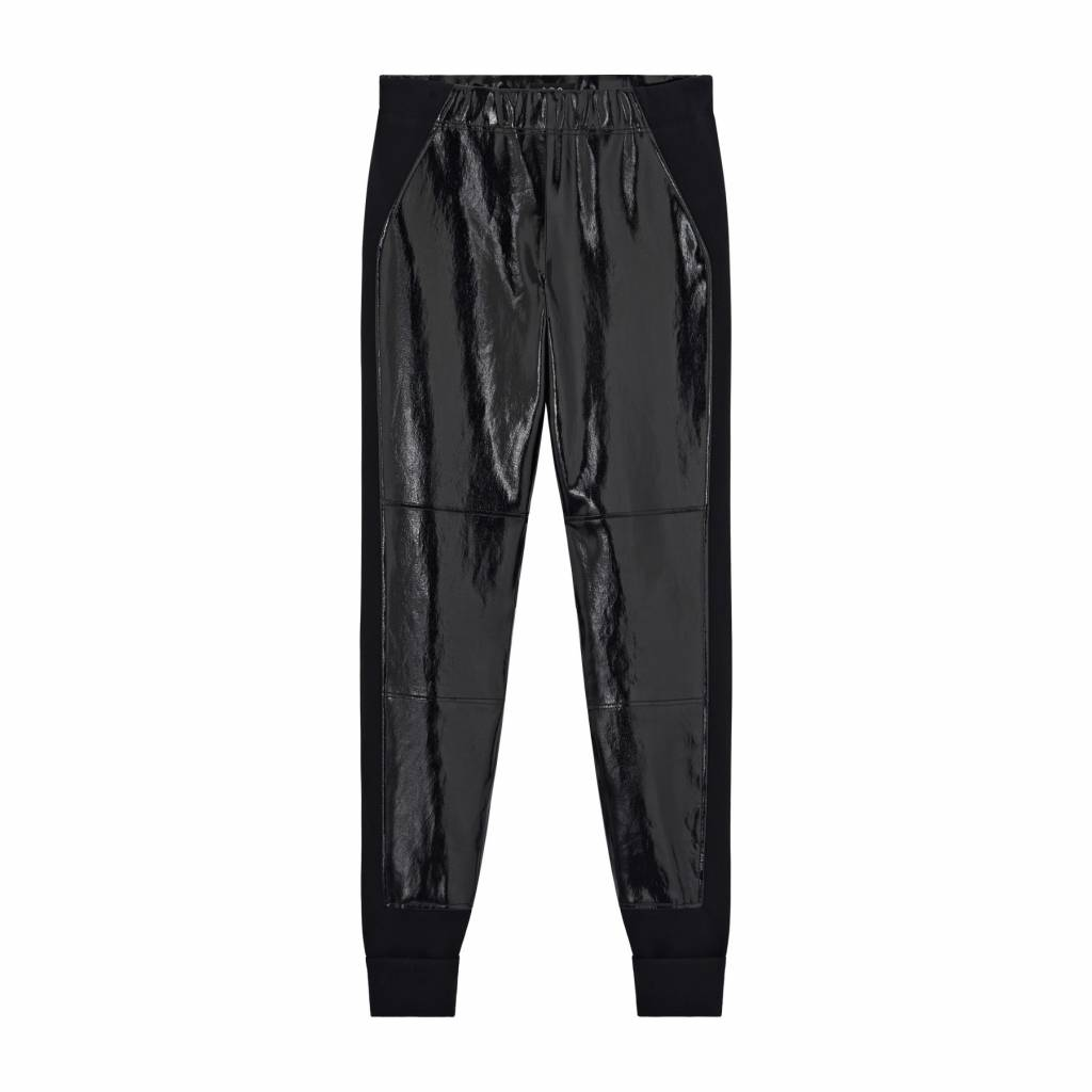 Wanda pants leather black