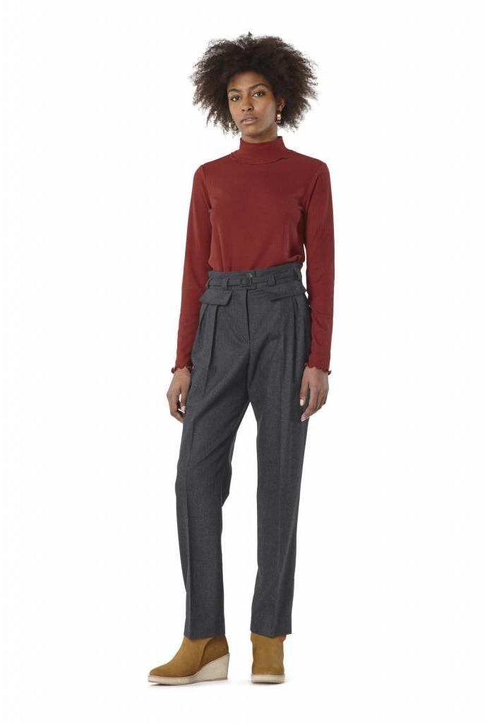 Isa pantalon dark grey