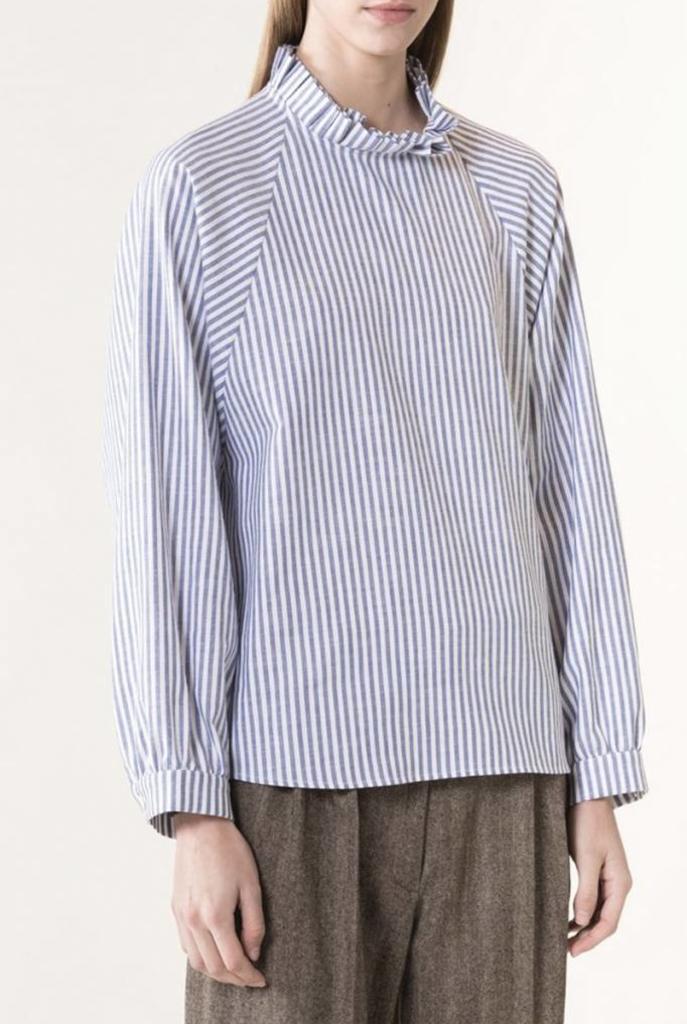 Janel blouse marine stripe