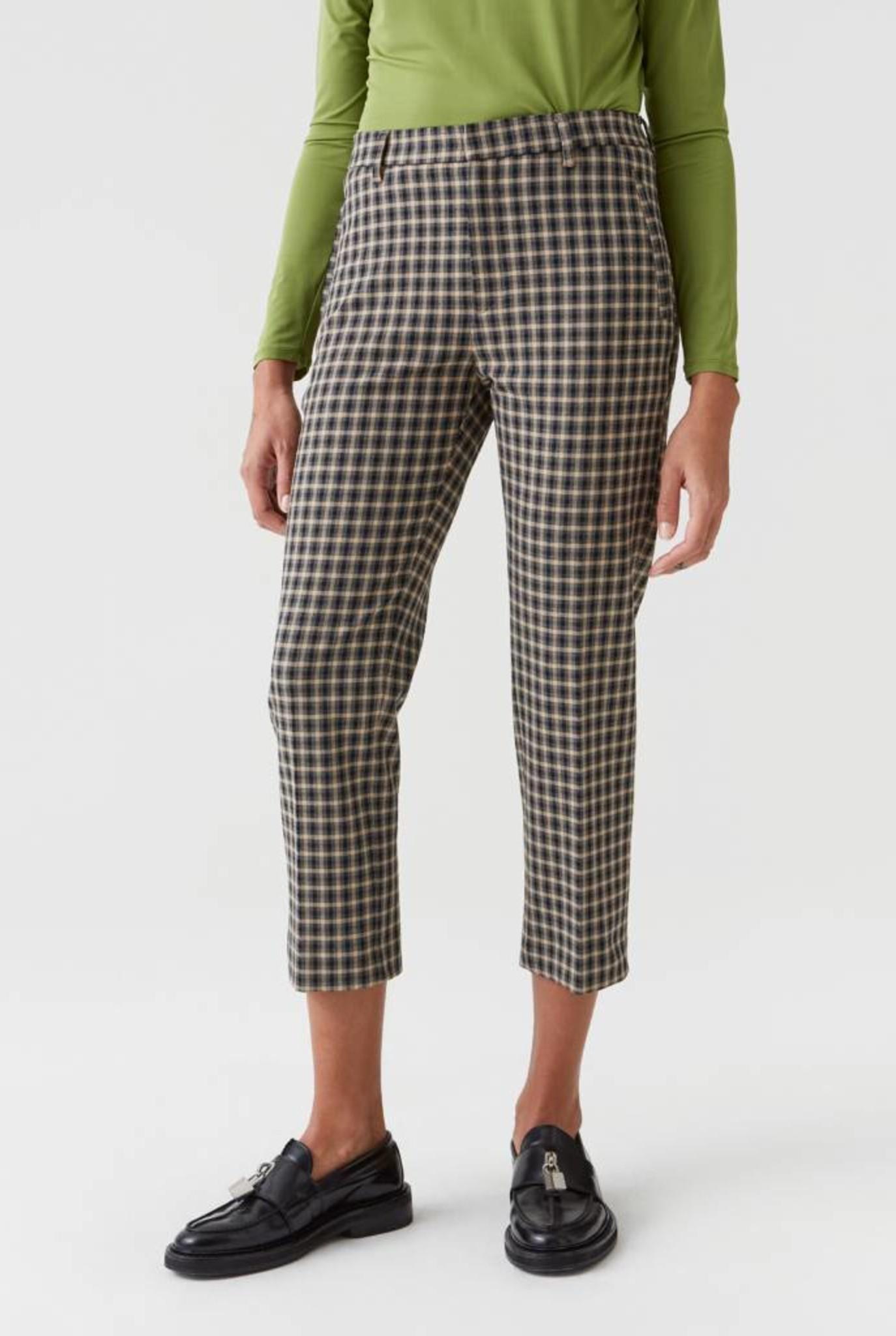 Alta trouser Beige check