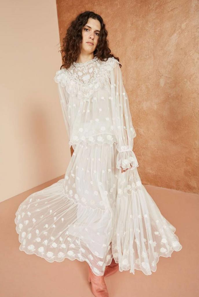 Lucien blouse pearl