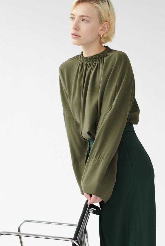 Maxie blouse Olive Green