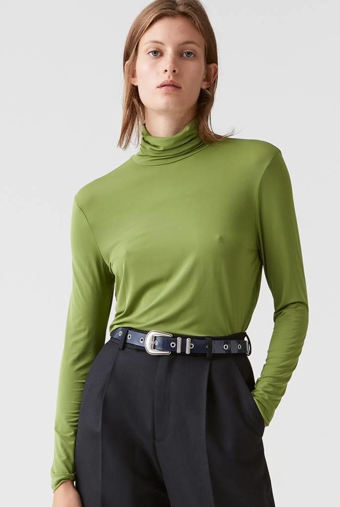 Smart LS Tee Green