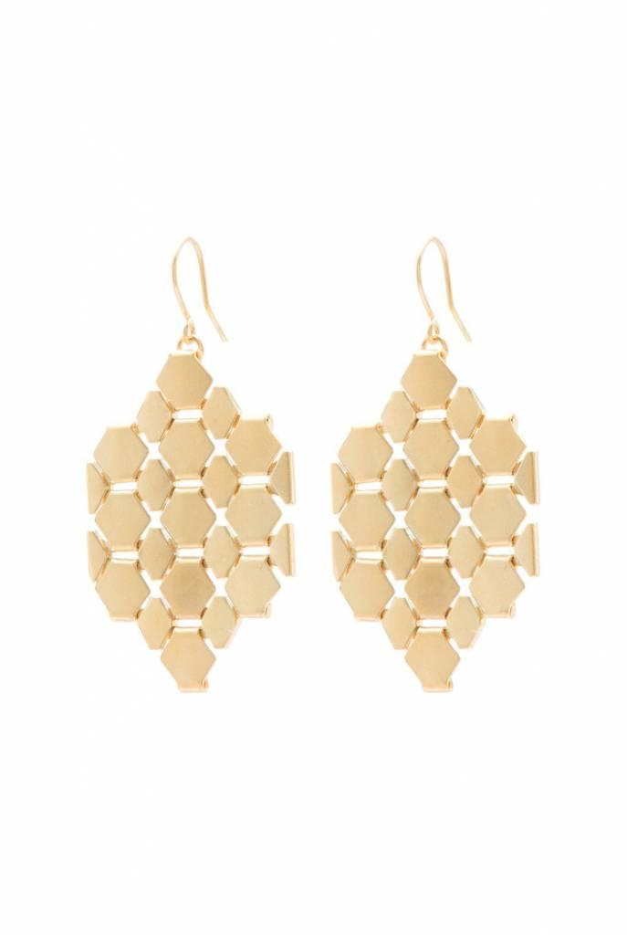 earrings gold pieces