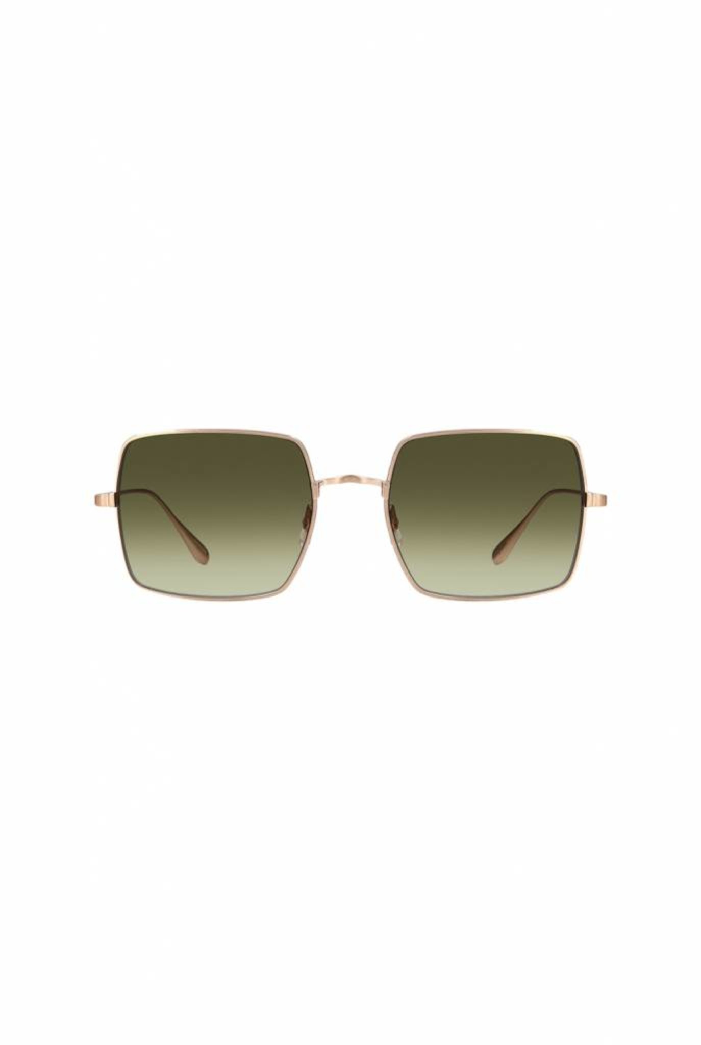 Crescent sunglasses Matte gold/Semi-flat Olive Gradient
