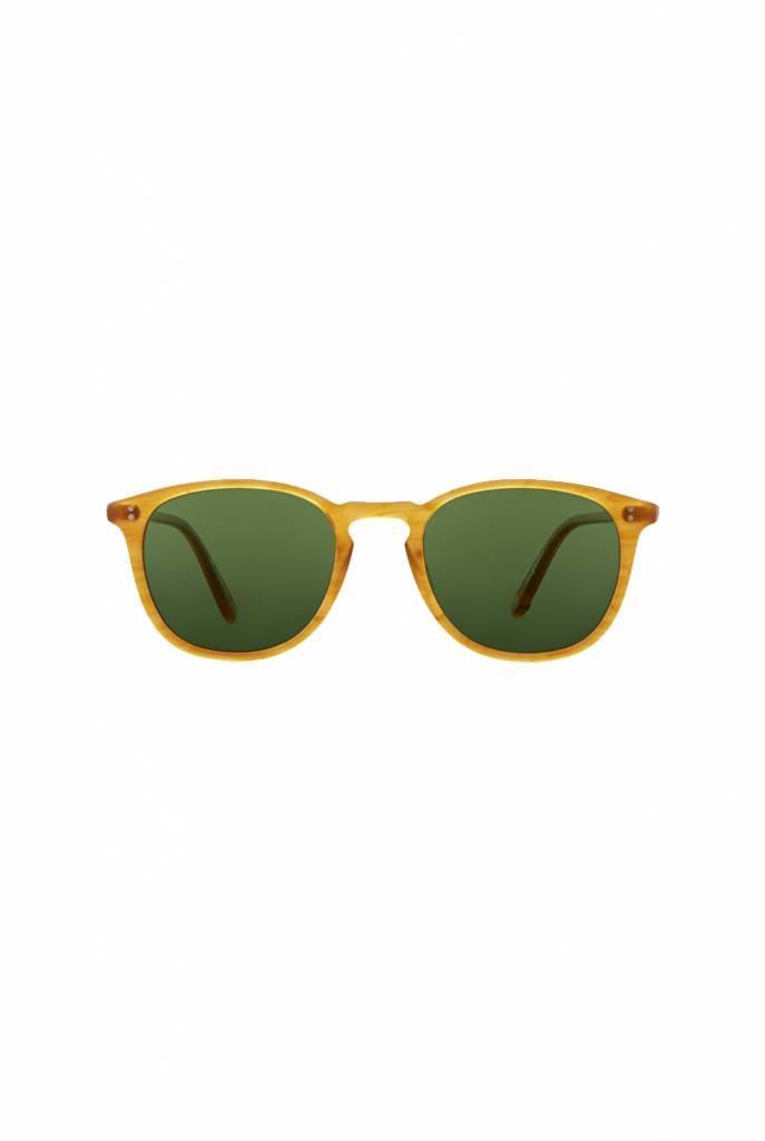 Kinney sunglasses Butterscotch/Pure Green