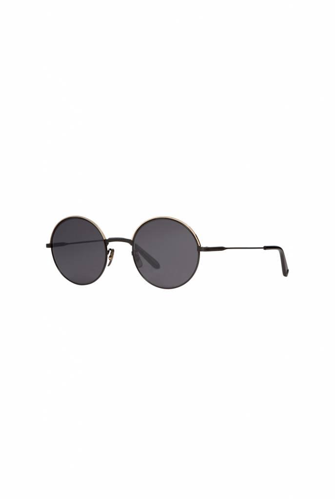 Seville sunglasses Matte Black/Semi-Flat Matte Black Mirror