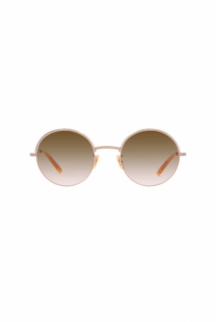 Seville sunglasses Powder Beige/Semi-Flat Mink Gradient