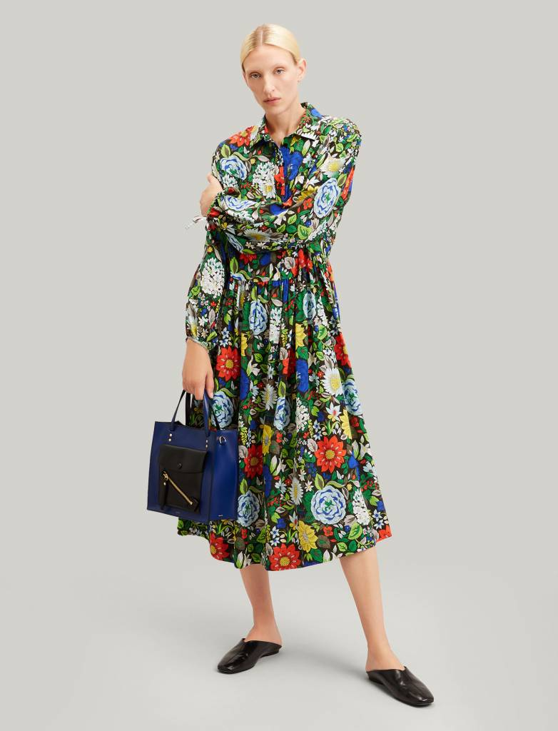 Claudia dress Botanical Floral