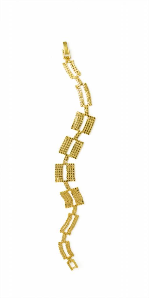 Sun Ra bracelet goldplated
