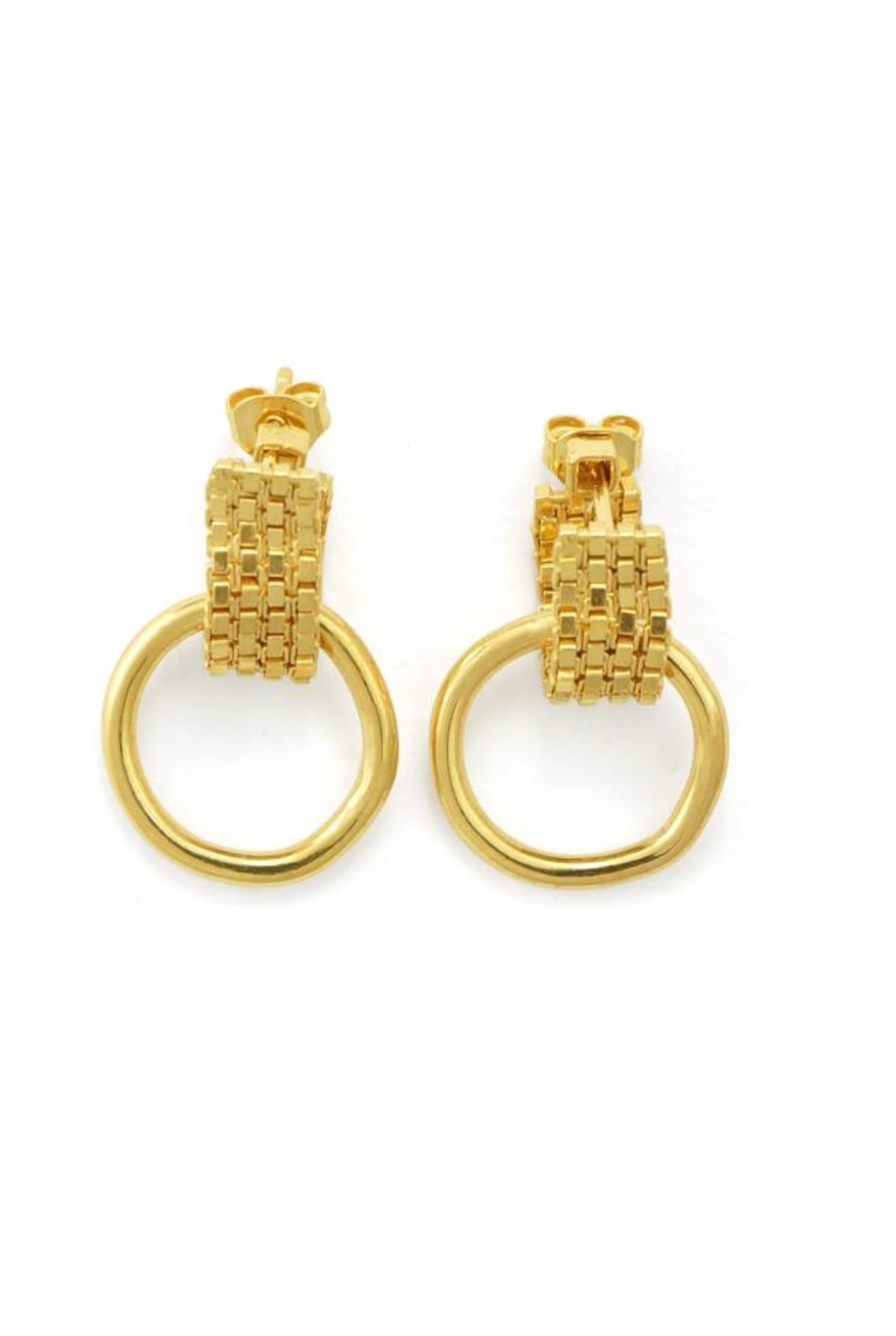 Lux earrings goldplated