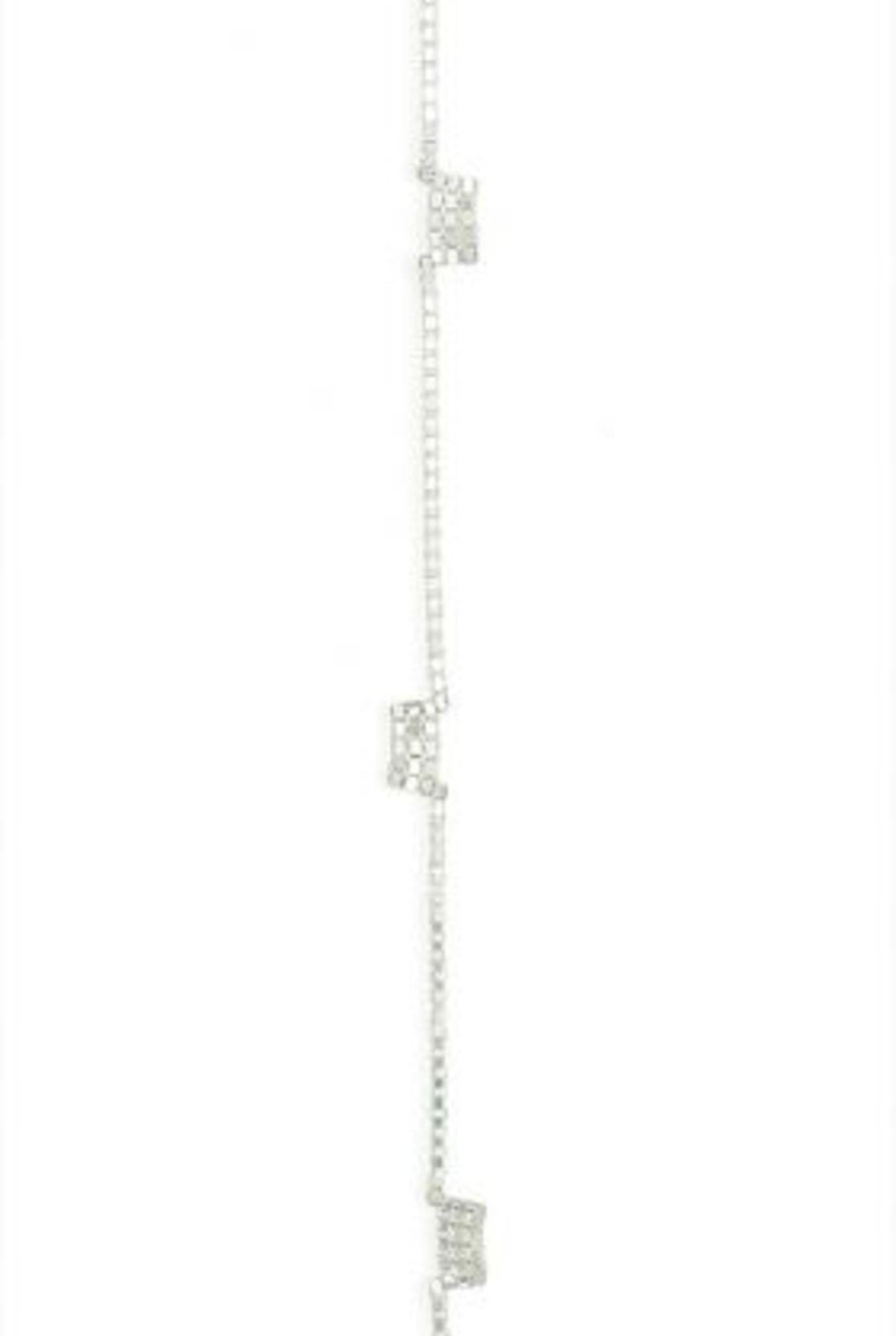 Fringe 5 bracelet silver